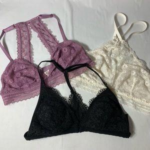 Victoria's Secret bralets set